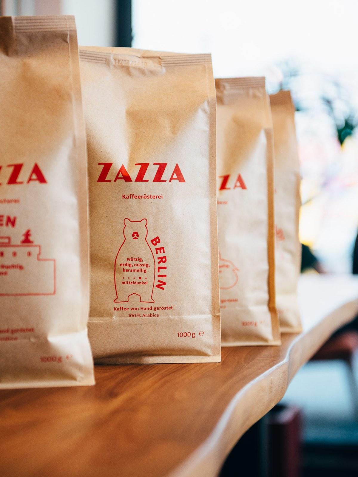 Kaffeeblends von Zazza Kaffeerösterei