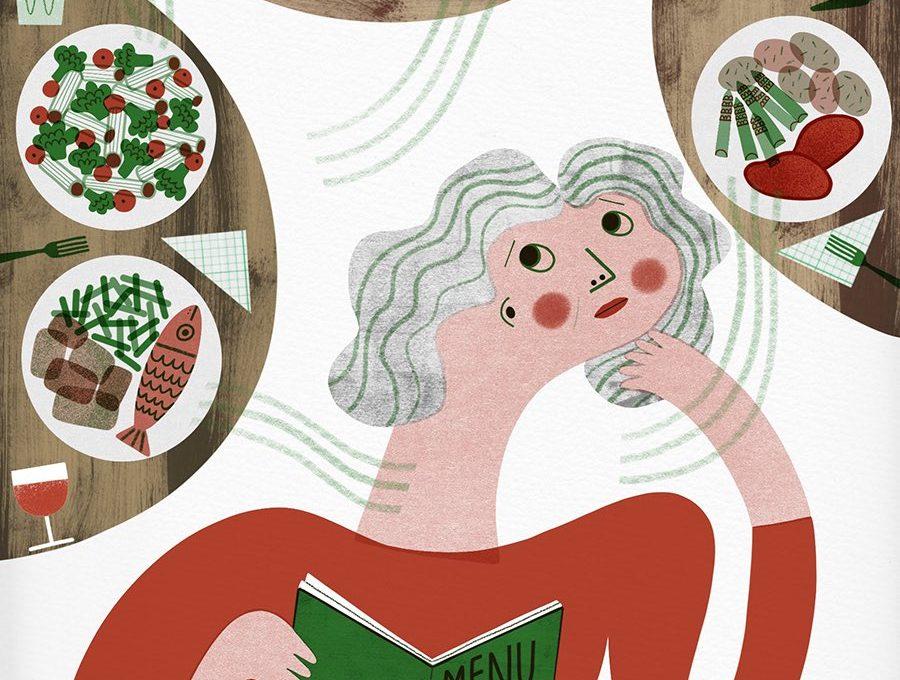 Futterneid im Restaurant ist weit verbreitet, vor allem bei Frauen.