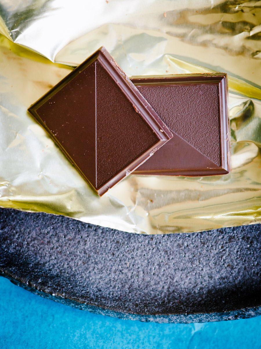 Mit zwei Stückchen Bitter-Schokolade gut die Wechseljahre wuppen
