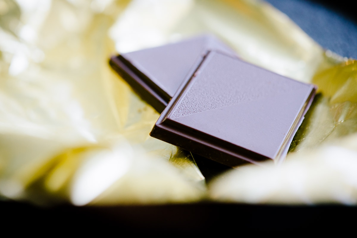 Ein Genuss auch in den Wechseljahren: Bitter-Schokolade